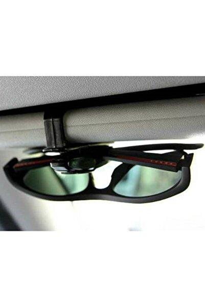 Universal Çok Amaçlı Araç Içi Mandallı Gözlük Kartlık Kağıt Tutacağı Klips
