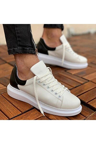 Chekich Bt Erkek Ayakkabı Beyaz / Siyah Ch256