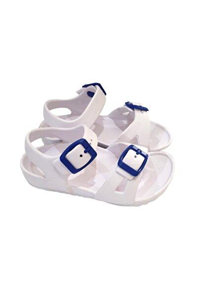 Gigi Momy Beyaz Poli Sandalet