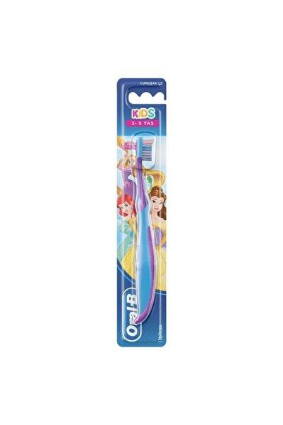 Oral-B Kids Prenses Kız Çocuk Diş Fırçası 3-5 Yaş Soft