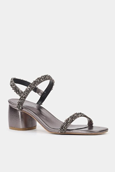 Antrasıt Kadın Sandalet 01SAH178300A250