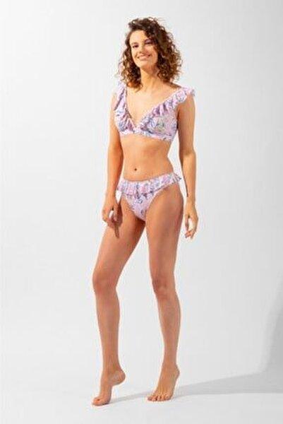 Ocean Odyssey Fırfırlı Desenli Kadın Bikini