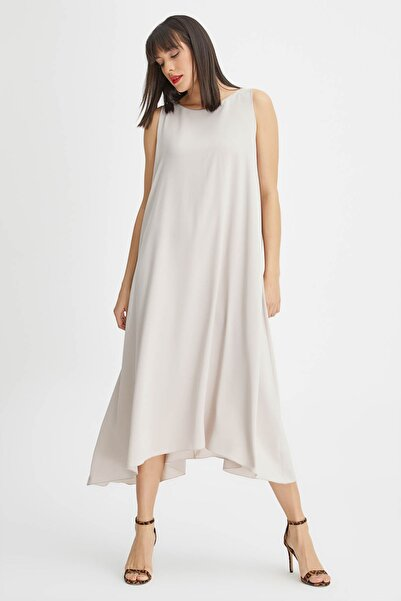 Kadın Taş Arkası Bağcıklı Elbise 20YG001305