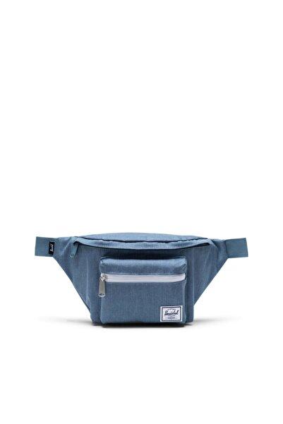 Herschel Supply Co. Seventeen Blue Mirage Crosshatch Bel Çantası