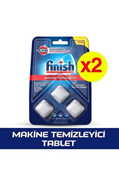 Finish Bulaşık Makinesi Temizleyici Tablet 3x2'li Paket