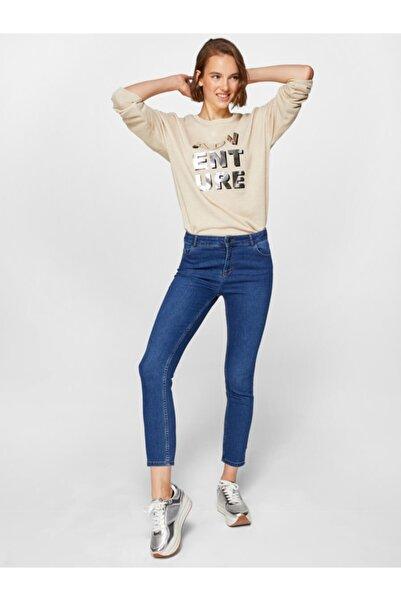 Faik Sönmez Normal Bel Bilek Boy Slim Fit Jean Pantolon 60036