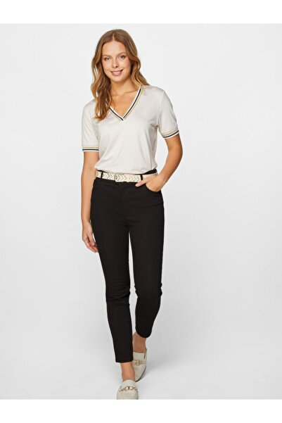 Faik Sönmez Kadın Normal Bel Bilek Boy Slim Fit Jean Pantolon 60037