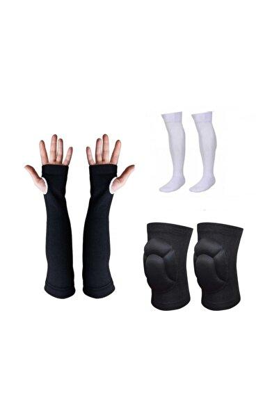 SCHMILTON Voleybol Dizliği Voleybol Çorabı Voleybol Kolluğu Set