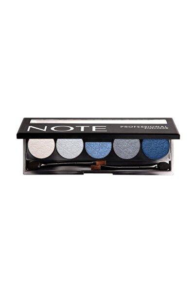 NOTE Cosmetics  5'li Göz Farı - Professional Eyeshadow No: 101