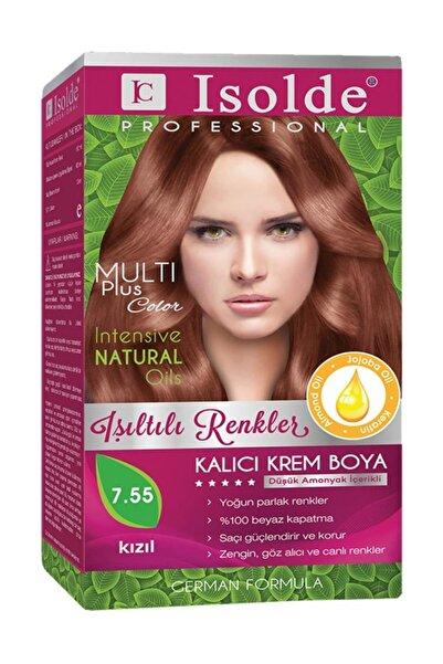 Isolde Saç Boyası Kızıl 7.55