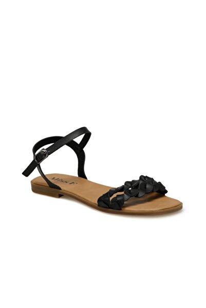 Miss F DS20027 Siyah Kadın Sandalet 100517564