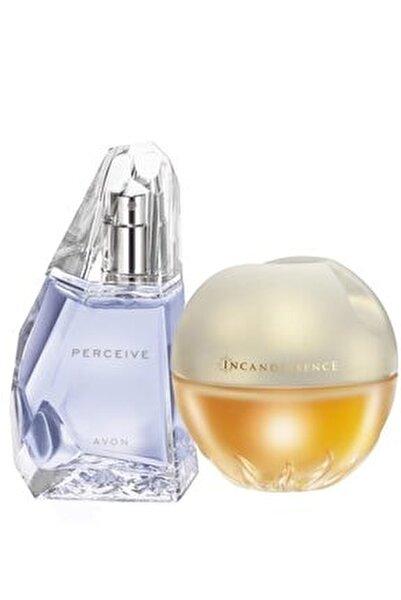 Perceive Edp 50 ml Kadın Parfüm + Incandessence Edp 50 ml Kadın Parfüm 5050000010757
