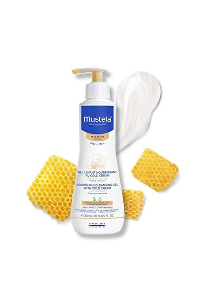 Mustela Cold Cream Içeren Besleyici Şampuan 300 ml