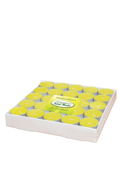 Citronella Tealight Mum 50'li / 6628