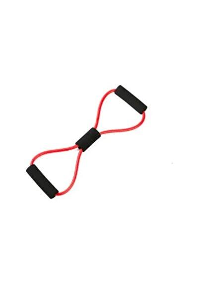 VOİVA Plates Kırmızı Direnç Lastiği, Egzersiz Direnç Ipi, Plates Lastiği