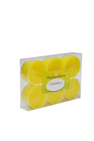 Citronella Tealight Mum 6'lı / 6623