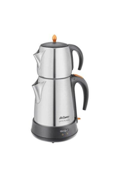 Arzum Çaycı Klasik Çay Robotu Çelik Çay Süzgeci Inox 1650W Ar3004