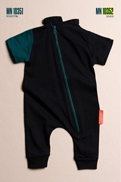 Elif Bebe Renkli Yandan Fermuarlı Unisex Bebek Ve Çocuk Tulum