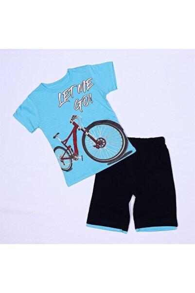 Bebe Bisiklet Penye Yazlık Şortlu Erkek K Takım