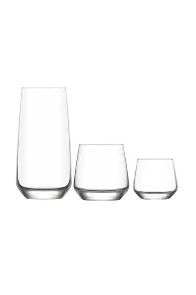 LAV Lal 18 Prç. Su Takımı Seti- Su Meşrubat Bardağı Takımı