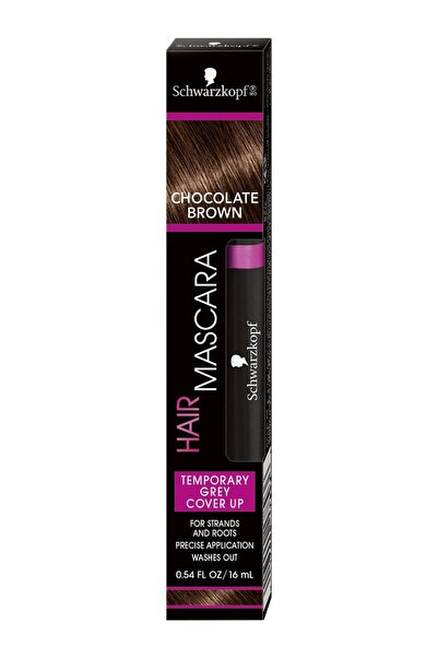 SCHWARZKOPF HAIR MASCARA Saç Maskarası Siyah Çikolata Kahve 017000178936