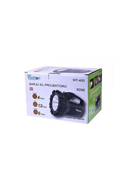Watton Wt-400 Şarjlı 50 W Projektör