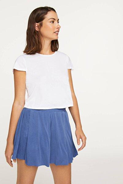 Kadın Denizci Mavisi Modal Şort