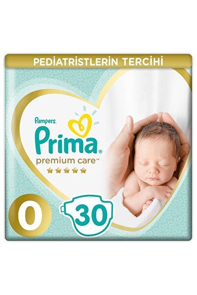 Bebek Bezi Premium Care 0 Beden 30 Adet Prematüre Tekli Paket