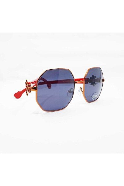 Hello Kitty Kız Çocuk Kırmızı Güneş Gözlüğü Has006 - 150 45/15 130