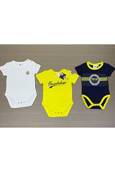 Fenerium Erkek Bebek 3 Lü Body 1-18 Ay