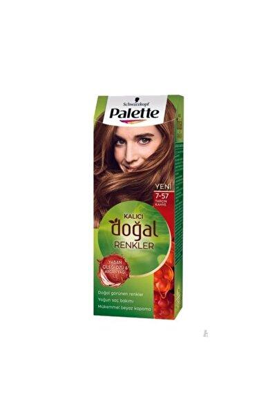 SCHWARZKOPF HAIR MASCARA Palette Kalıcı Doğal Renkler 7-57 Tarçın Kahve