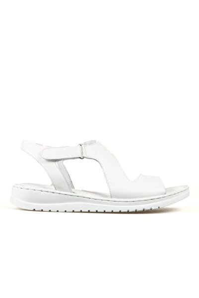 Hammer Jack Kadın Beyaz Sandalet 204 17-z