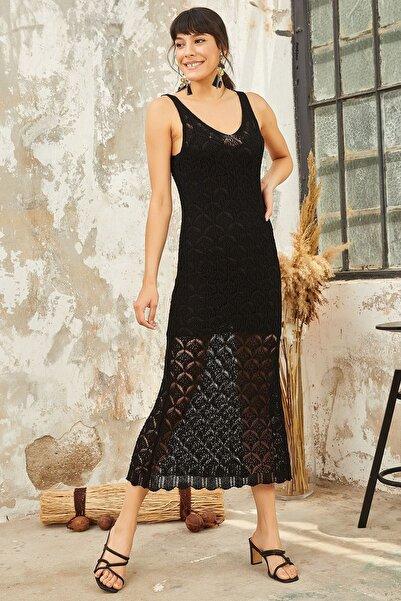 Mispacoz K143 Elbise Siyah