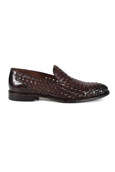 Sofia Baldi Antımo Kahve Deri Erkek Klasik Ayakkabı