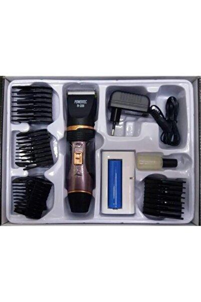 Powertec Tr 3200 Profesyonel Tıraş Makinesi Şarjlı Yedek Bataryalı