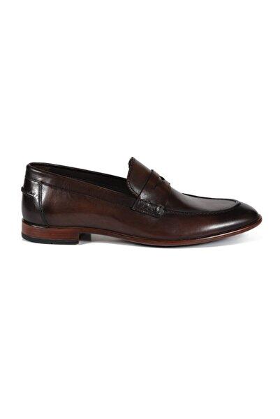 Sofia Baldi Abaco Kahve Deri Erkek Klasik Ayakkabı