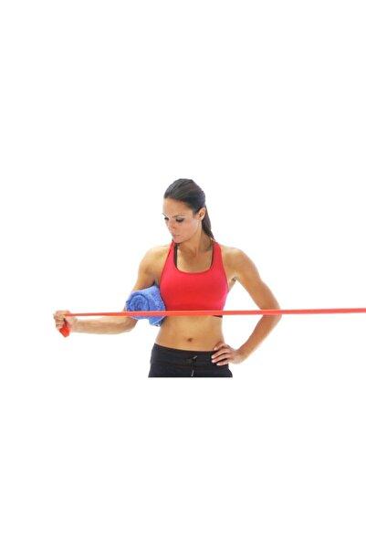 THERABAND Kırmızı Egzersiz Pilates Bandı Direnç Lastiği 1,5 Metre