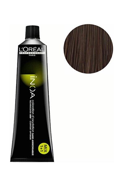 İNOA Inoa Saç Boyası 6,0 Yoğun Kumral 3474630491717 (Oksidansız)