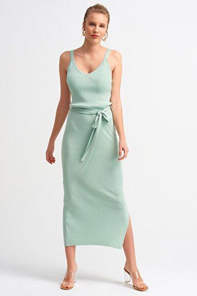 Dilvin Kadın Mint 2616 Askılı Elbise 101A02616