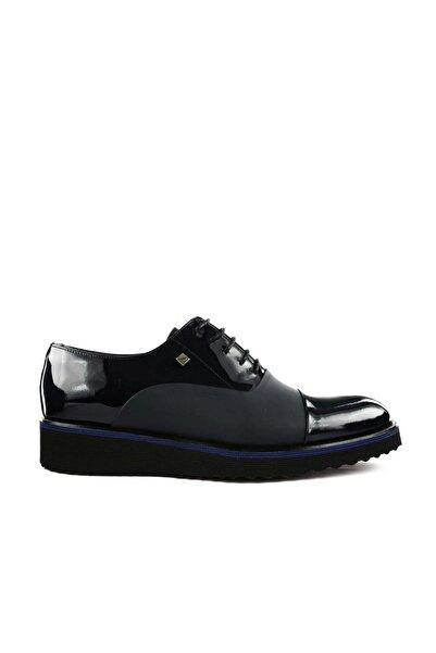 Fosco Siyah Rugan Erkek Klasik Ayakkabı 6590-K-577