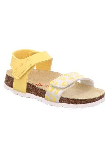 Superfit Sarı Kız Çocuk Sandalet