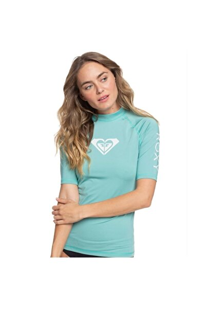 Roxy Kadın Su Yeşili Whole Hearted Ss J Sfsh Ght0 Lycra T-shirt