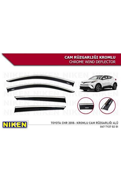 Niken Toyota C-hr Chr 2016 2017 2018 2019 2020 Model Kromlu Cam Rüzgarlığı