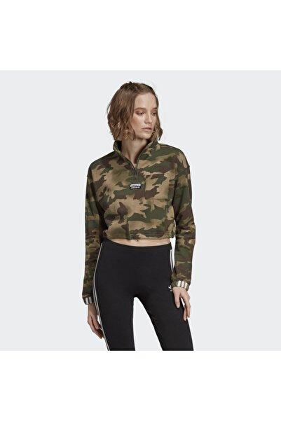 adidas Kadın Half  Kamuflaj Sweatshirt  ec0763