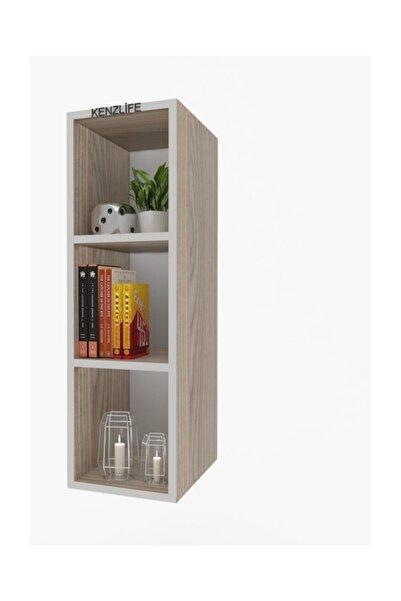 Kenzlife mutfak dolabı ıtır 060.030.30 crd 2 raflı kapaksız ofis banyo kiler evrak kitaplık