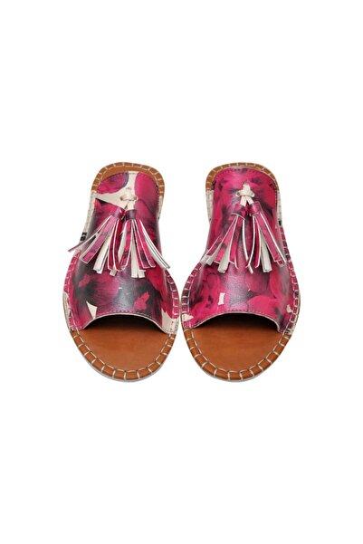 Dogo Flowers On My Shoes Kadın Dolgu Topuklu Terlik