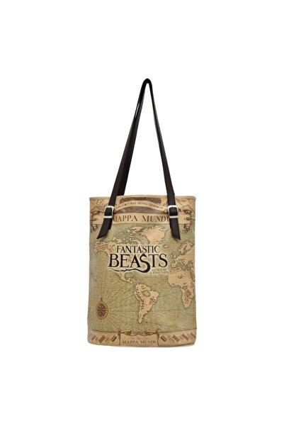 Dogo Mappa Mundi Fantastic Beasts Kadın Çift Askılı Omuz Çantası