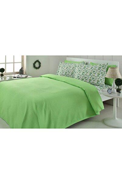 Özdilek Çift Kişilik Pike Takımı Fashion Yeşil