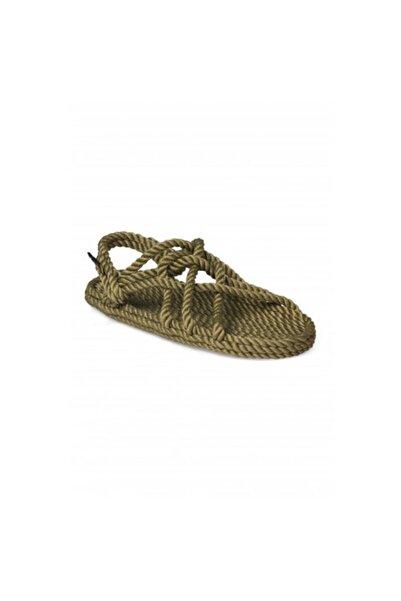 Nomadic State Of Mind Kadın Jc Hasır İp Sandalet Olive