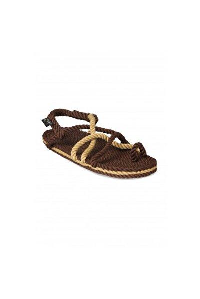 Nomadic State Of Mind Toe Joe Cafe Camel Hasır İp Sandalet